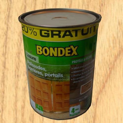 Bondex lasure classique bois ext rieurs palissades for Peinture en ligne