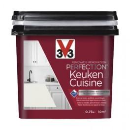 V33 Rénovation Perfection Cuisine Voile de Coton Satin