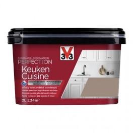 V33 Rénovation Perfection Cuisine Taupe Satin