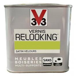 V33 Vernis Relooking Vert Disco Satin Velours