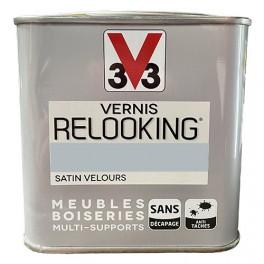 V33 Vernis Relooking Zinc Satin Velours