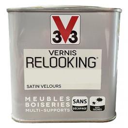 V33 Vernis Relooking Lin Satin Velours