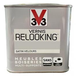 V33 Vernis Relooking Ficelle Satin Velours