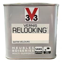 V33 Vernis Relooking Pétale Satin Velours