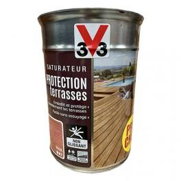 V33 Saturateur Protection Terrasse Teck