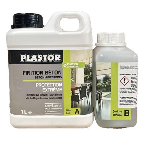 PLASTOR Finition Béton Protection Extrême