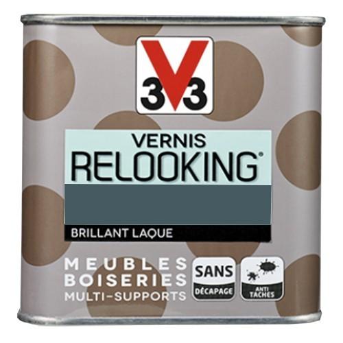 V33 Vernis Relooking Pétrole Brillant Laque