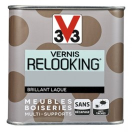 V33 Vernis Relooking Zinc Brillant Laque