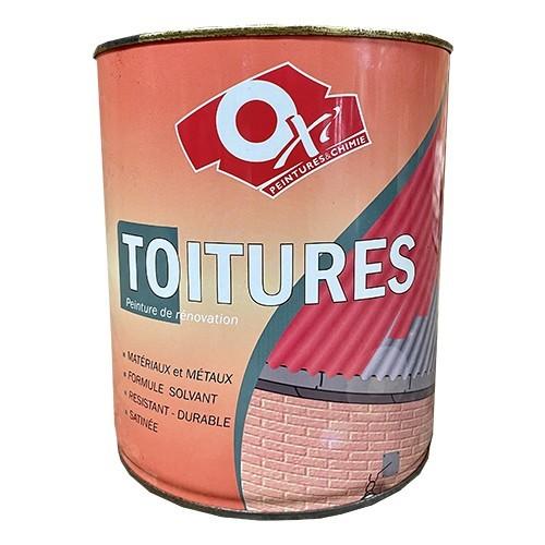 OXI Peinture TOITURES Rouge