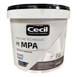 Peinture PE MPA Cécil Blanc Mat 10L