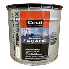 Peinture Façade PEF Silox Cécil Calcaire
