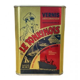 Vernis anticorrosion Le Tonkinois Incolore brillant