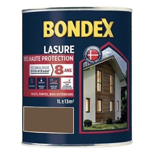 Lasure Très Haute Protection Siliuréthane 8 ans BONDEX Chêne rustique