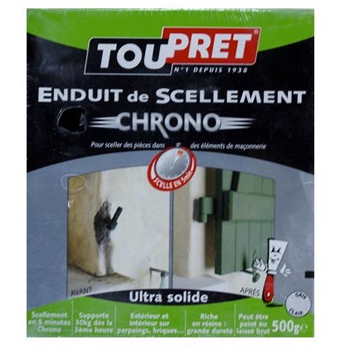 Toupret Enduit De Scellement Chrono 500g Pas Cher En Ligne Enduit De Lissage  Exterieur Toupret