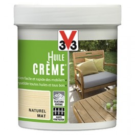 Huile crème V33 Naturel