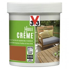 Huile crème V33 Teck