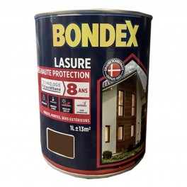Lasure BONDEX Très Haute Protection 8 ans Polyuréthane Chêne rustique
