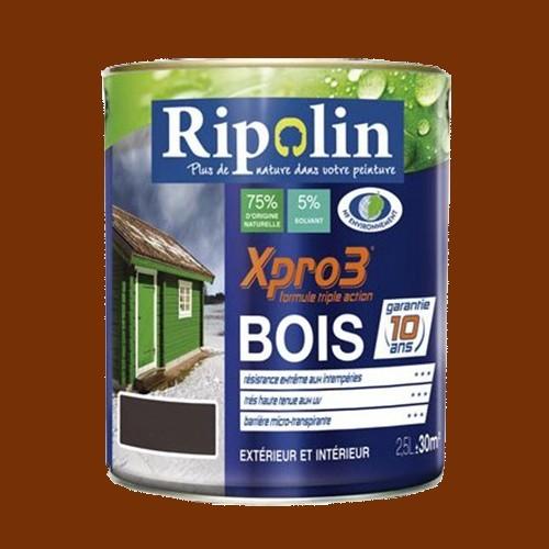 RIPOLIN Peinture Xpro3 Bois Teck pas cher en ligne # Peinture Pas Cher Pour Bois