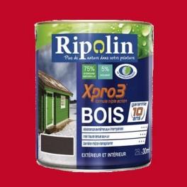 ripolin peinture xpro3 bois rouge vif pas cher en ligne. Black Bedroom Furniture Sets. Home Design Ideas