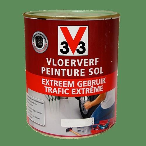 Peinture v33 sp cial sol trafic extr me mousse pas cher en for Peinture special plafond