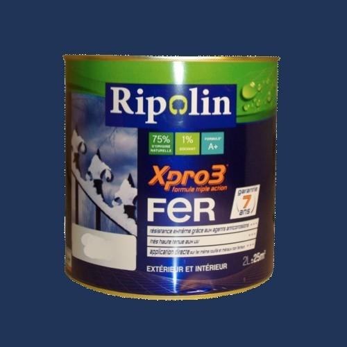 RIPOLIN Xpro3 Fer Bleu marine