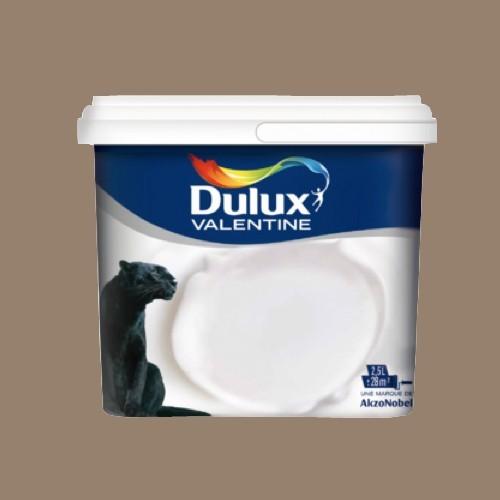 dulux valentine peinture acrylique cr me de couleur cr me noisette pas cher en ligne. Black Bedroom Furniture Sets. Home Design Ideas