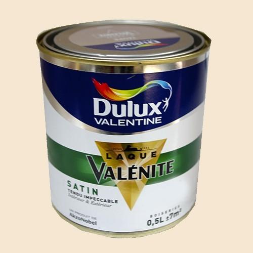 DULUX VALENTINE Laque Valénite Satin Blanc cassé