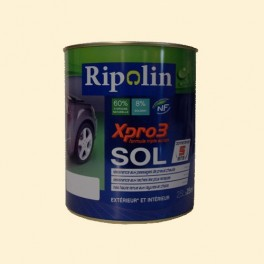 Peinture RIPOLIN Xpro3 Sol Blanc Cassé Satin