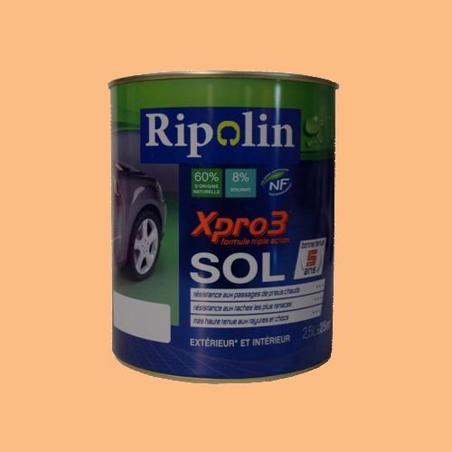 Peinture ripolin xpro3 sol sable satin pas cher en ligne for Peinture exterieur pas cher