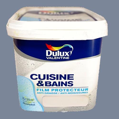 Dulux valentine peinture acrylique cuisine et salle de - Peinture cuisine pas cher ...