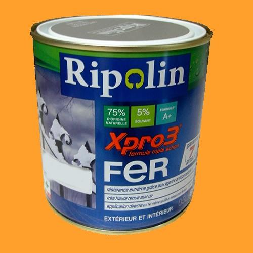 Ripolin xpro3 fer jaune d 39 or pas cher en ligne - Peinture ripolin avis ...
