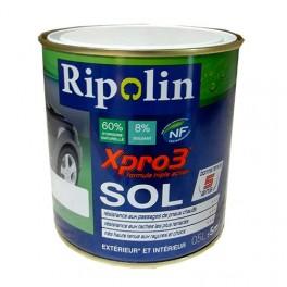 Achat Peinture Ripolin Xpro3 Sol Blanc Satin