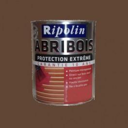 RIPOLIN PeintureAbribois Protection Extrême Chataîgnier Satin