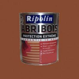 RIPOLIN Peinture Abribois Protection Extrême Ton Bois Satin