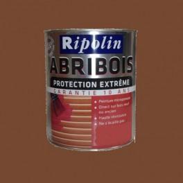 RIPOLIN Peinture Abribois Protection Extrême Marron Satin