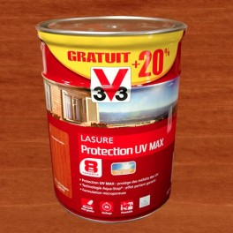 V33 Lasure Protection UV MAX 8ans 6L Pin d'Orégon