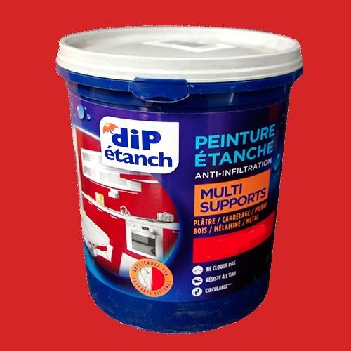 DIP Peinture Étanche Acrylique Multi-Supports Coquelicot