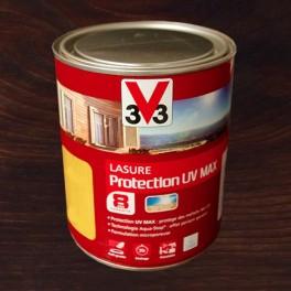 V33 Lasure Protection UV MAX 8ans Chêne Foncé