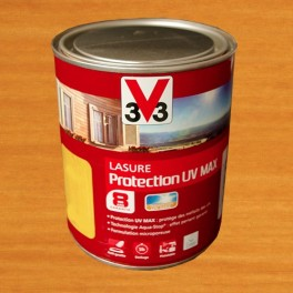 V33 Lasure Protection UV MAX 8ans Chêne Clair