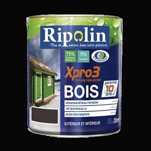 RIPOLIN Peinture Xpro3 Bois Noir