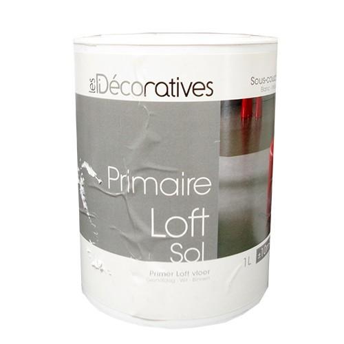 Sous Couche Blanche Les décoratives Primaire Loft Béton Ciré Sol 1L