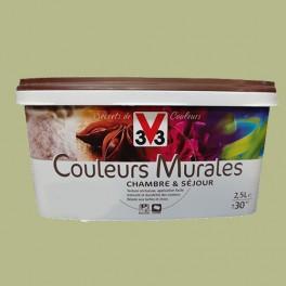 peinture v33 couleurs murales mat 2 5l r ve de for t pas cher en ligne. Black Bedroom Furniture Sets. Home Design Ideas