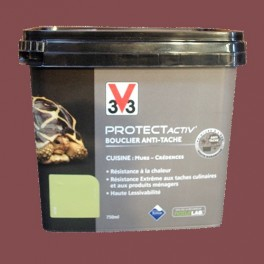V33 Protect Activ' 0,75L Satin Gourmand Safran