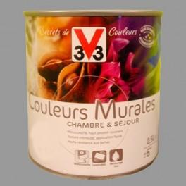 Peinture v33 couleurs murales satin granit pas cher en ligne for Peinture granit