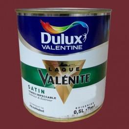 DULUX VALENTINE Laque Valénite Satin Rouge Basque