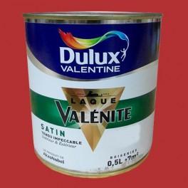 DULUX VALENTINE Laque Valénite Satin Rouge Madras