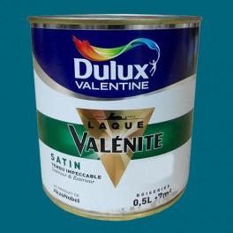 DULUX VALENTINE Laque Valénite Satin Bleu touareg