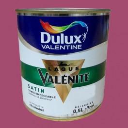 DULUX VALENTINE Laque Valénite Satin Coulis framboise
