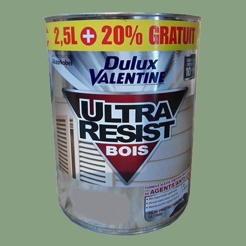 Dulux valentine ultra r sist bois vert provence satin 3l pas cher en ligne - Peinture dulux valentine ultra resist bois ...