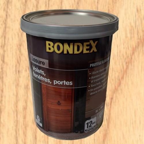 bondex lasure volets fen tres portes incolore 12 ans pas cher en ligne. Black Bedroom Furniture Sets. Home Design Ideas